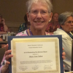 Mary Ann Tabor Pikes Peak Servant of the Year 2016